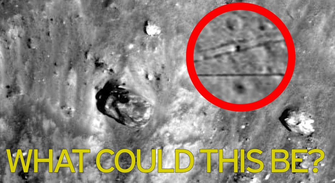 Alien army on the moon? UFO hunters spot 'ancient tank on hiding among ruins' in NASA photo