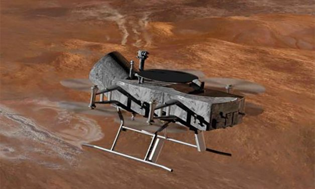 'Dragonfly' Drone Could Explore Saturn Moon Titan