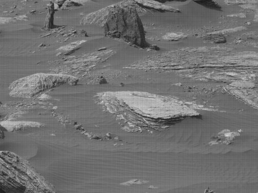 Martian tree stump spotted by alien hunters points towards existence of life on ancient Mars