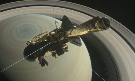 NASA's Cassini spacecraft is about to plunge between Saturn and its rings — before spiraling into the planet