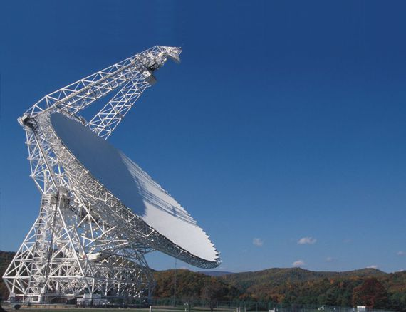 Real search for aliens gets weird signal from a sci-fi world