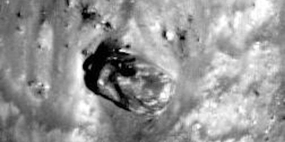 UFO Searchers Claim to Find Alien Tank on the Moon