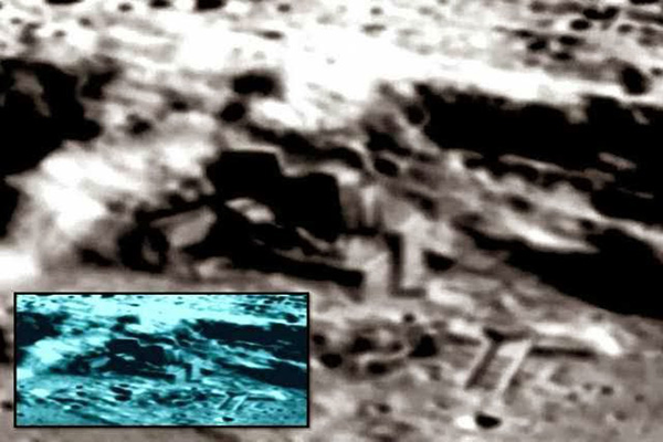 China reveals that a massive Alien outpost and mining facility is operating on the Moon