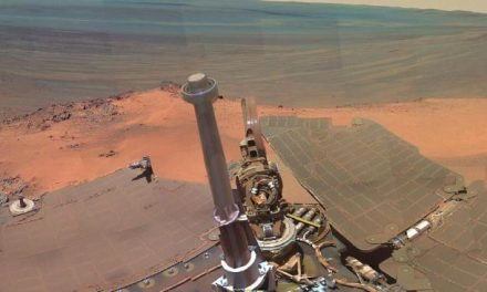 Is this photo by the Mars Opportunity rover proof of aliens?