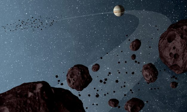 Rings and asteroids may explain 'alien megastructure' star