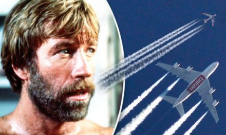 What are Chemtrails? Jet plane conspiracy theory followed by film stars and politicians