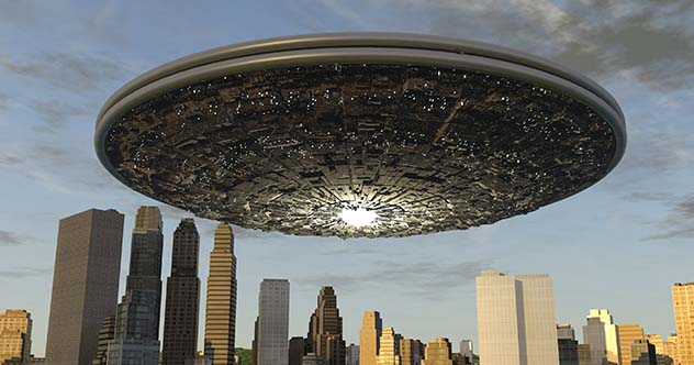 10 Eerie Videos Of UFOs Captured On Live Television