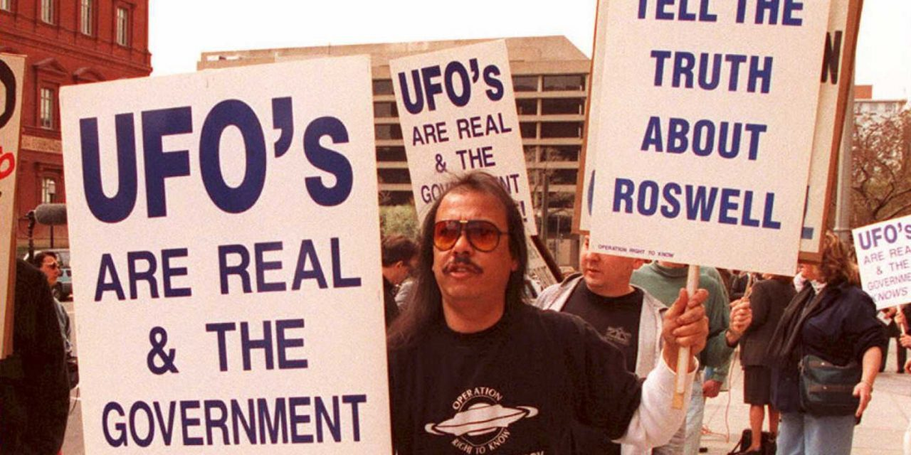 20 years ago, the U.S. Air Force released a 231-page UFO report on the 'Roswell incident'