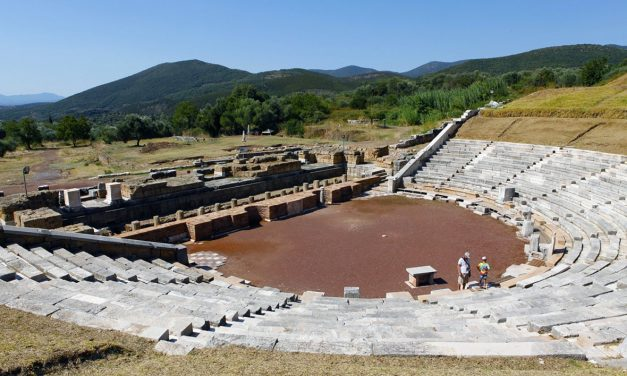 Dramatic discovery reveals secrets of 2,000-year-old lines in the ground at Ancient Greek theatre