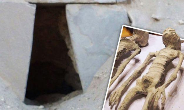 Inside tomb in Peru where 'mummified aliens were found'