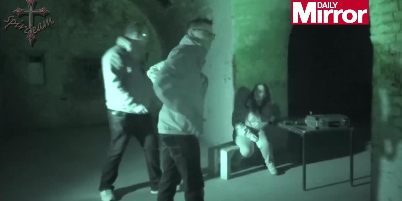 Paranormal cameraman who doesn't believe in ghosts gets 'shoved by spirit' who leaves unexplained scratches on his back
