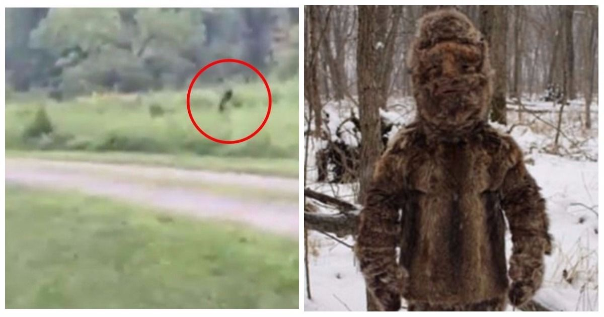Bigfoot sighting turned out to be man dressed in raccoon hair performing ritual