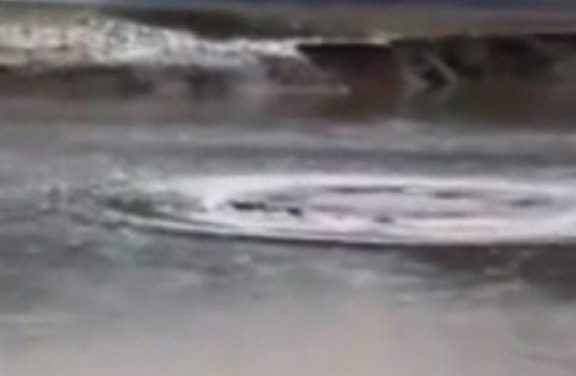 Chinese Loch Ness Monster spotted lurking in a lake in eerie mobile phone footage that has China in a frenzy