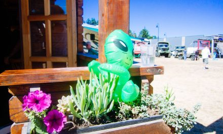 First Contact at Yelm's Brand New UFO Festival