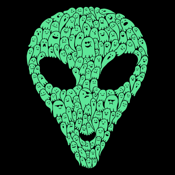 Ghosts Are Alien – Talk About Your Spectral Anomalies!