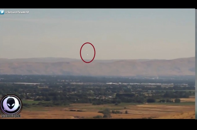 These UFOs were spotted during the rare Total Solar Eclipse! [VIDEO]