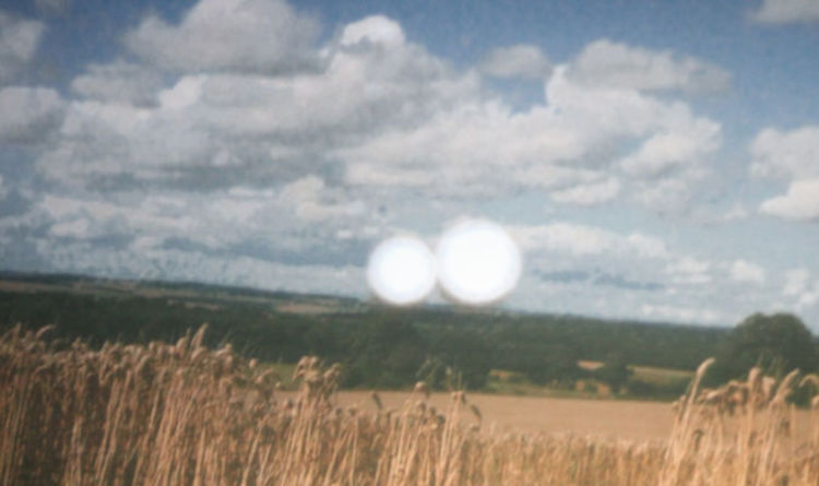 Watch as bizarre UFOs 'fly over crop circles' in extraordinary footage