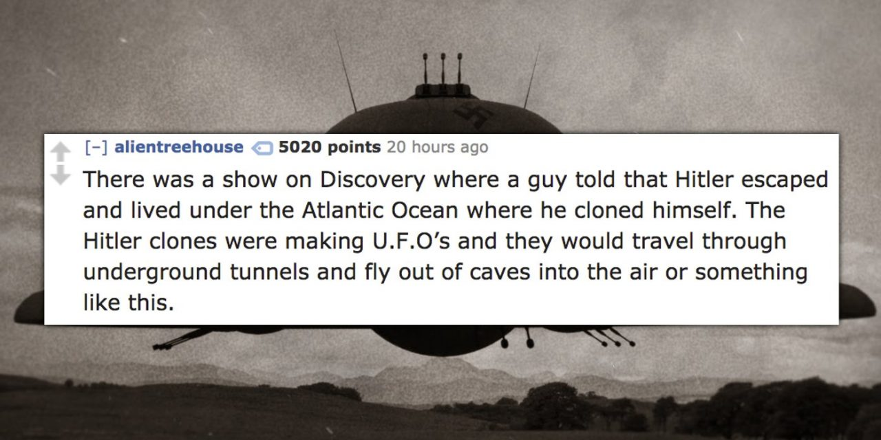 15 of the Dumbest Conspiracy Theories People Actually Believe