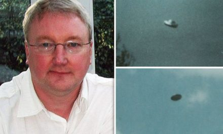 ALIEN UFO SHOCK: 'Crystal clear flying saucer' captured on camera by father and son