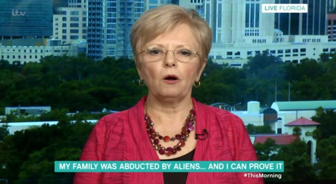'My family were abducted by aliens and I can prove it!' Woman blasted as she makes bold claim on This Morning