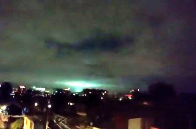 Rare phenomenon called 'earthquake lights' observed in Mexico skies! [VIDEO]