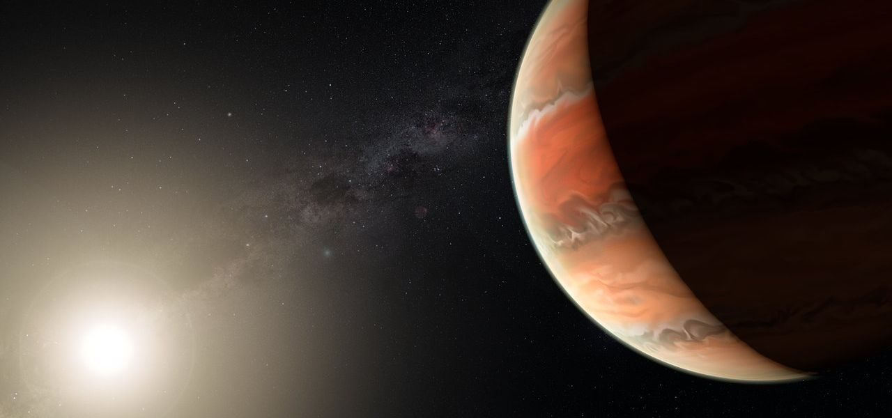 """Scientists have discovered an alien planet that has """"titanium skies"""""""