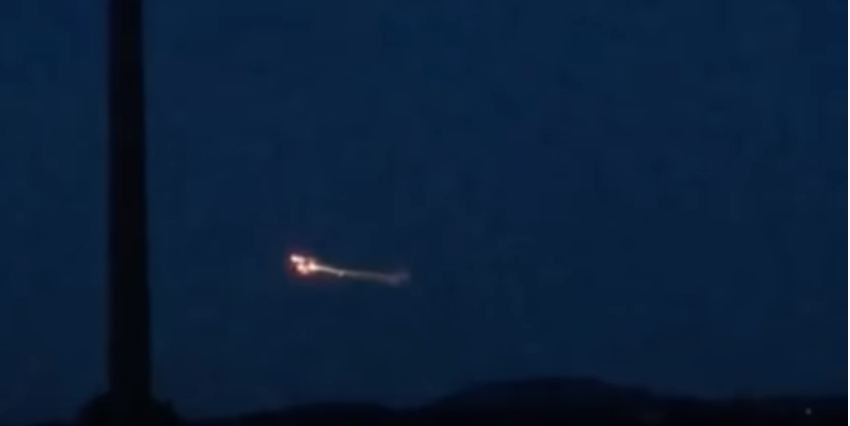 UFO as bright as a 'bolt of lightning' spotted over the Yorkshire Dales [VIDEO]