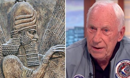 Apollo astronaut claims not only that aliens are real but they also created mankind