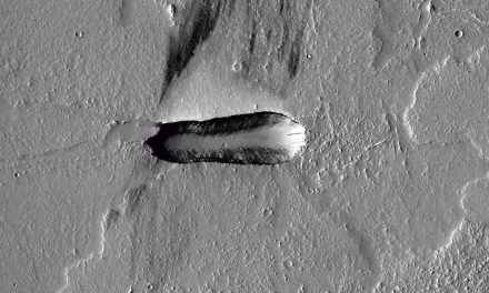 Is this a crashed alien spaceship on Mars?