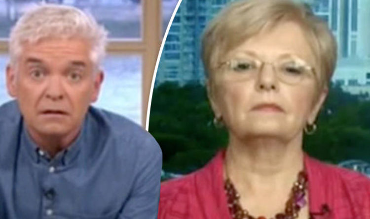 Phillip Schofield GOBSMACKED over shocking evidence of UFOs: 'That is not of this planet!'