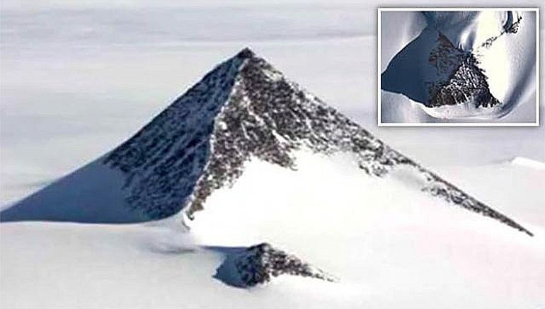 A Third Pyramid Covered In Snow Discovered In Antarctica Could Be The Initiator Of Change In Human History – Interesting