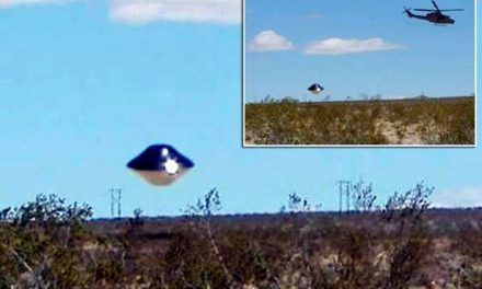 Shocking UFO sighting above US Navy base in the California desert raises the possibility of alien visitors