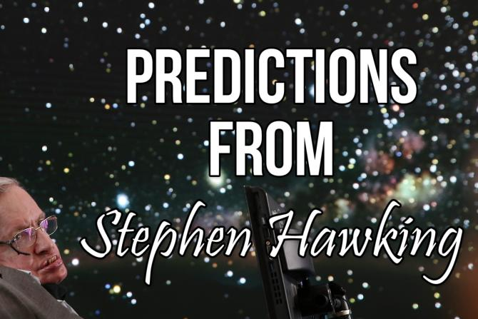 Stephen Hawking's Predictions About Artificial Intelligence, Aliens And The Future Of Humanity