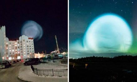 Truth about giant orb hovering over Siberia at Yamalo