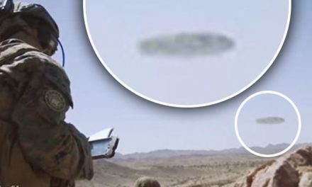US Marines 'film crystal clear footage of huge UFO' in Arizona Desert