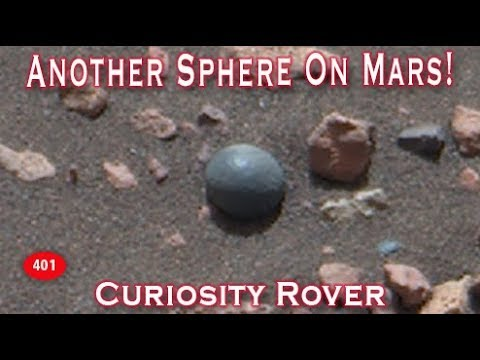 Metal cannonball spotted on Mars in '100 per cent proof of ancient war'