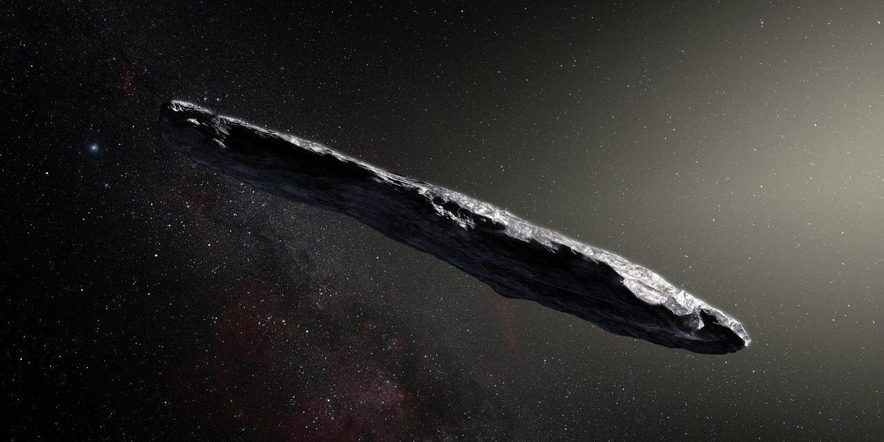 What if the interstellar body Oumuamua really was sent by aliens?