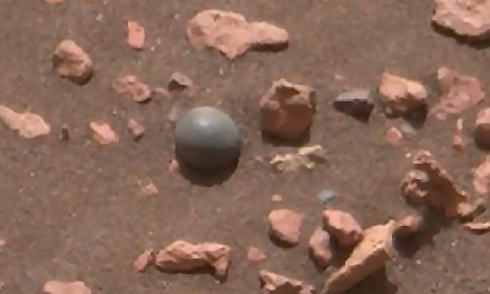 Why did NASA's rover just find a cannonball on Mars?