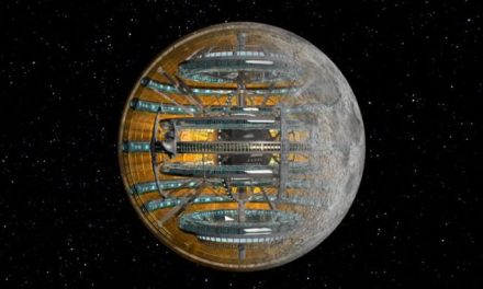 That's No Moon — It's an Alien Observatory Created to Keep an Eye on Us!