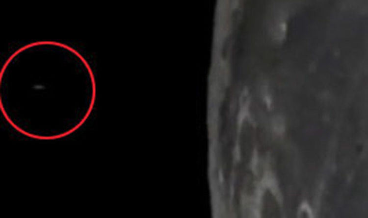 Truth about the unexplainable footage of UFO taking off from the Moon