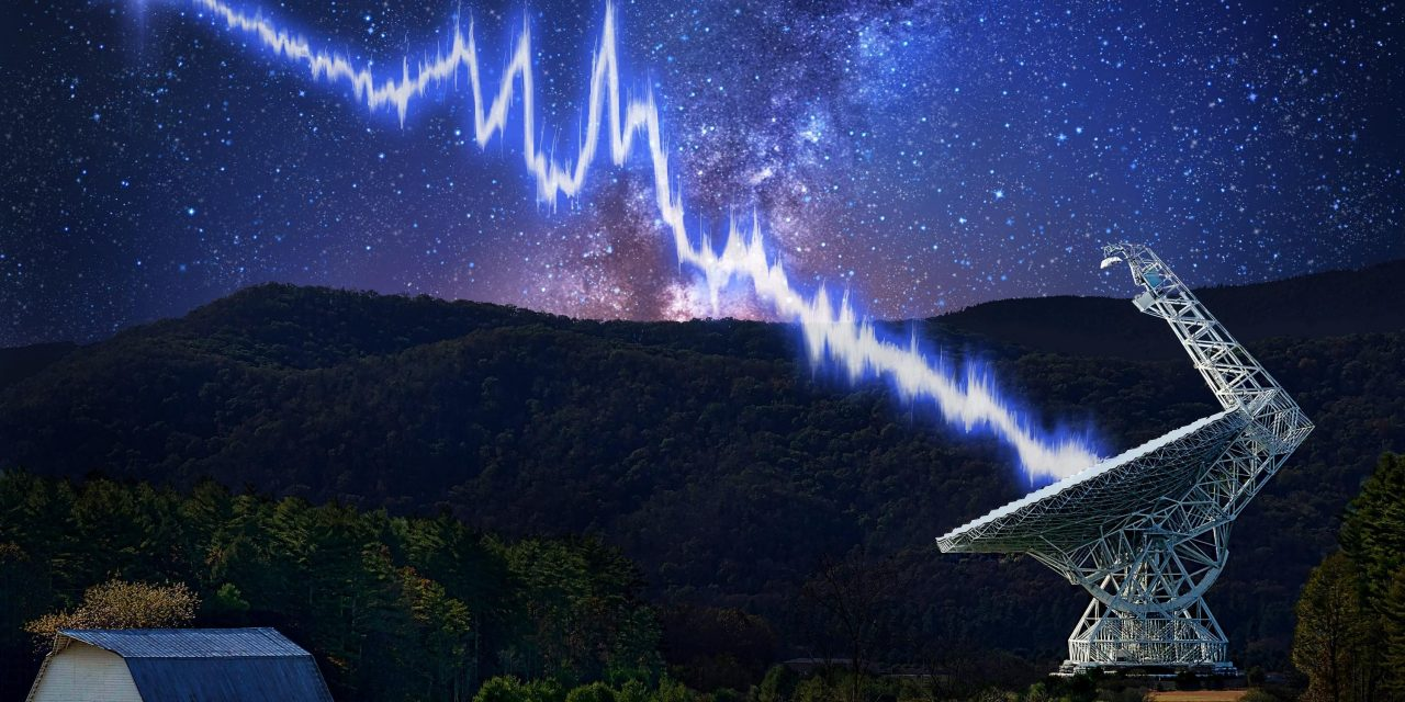 Weird radio signals may have even freakier source than aliens