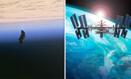 Black Knight Satellite FILMED by International Space Station, UFO watchers say