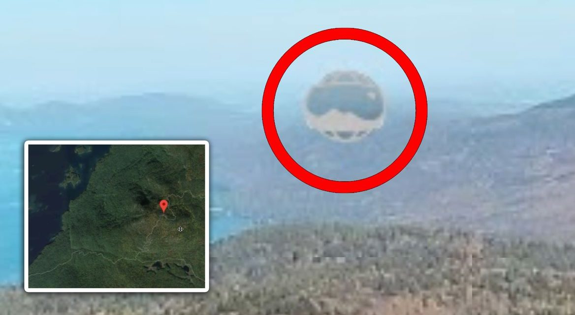 Alien life confirmed? Footage sends UFO believers wild as bizarre orb shape can be viewed on the map system