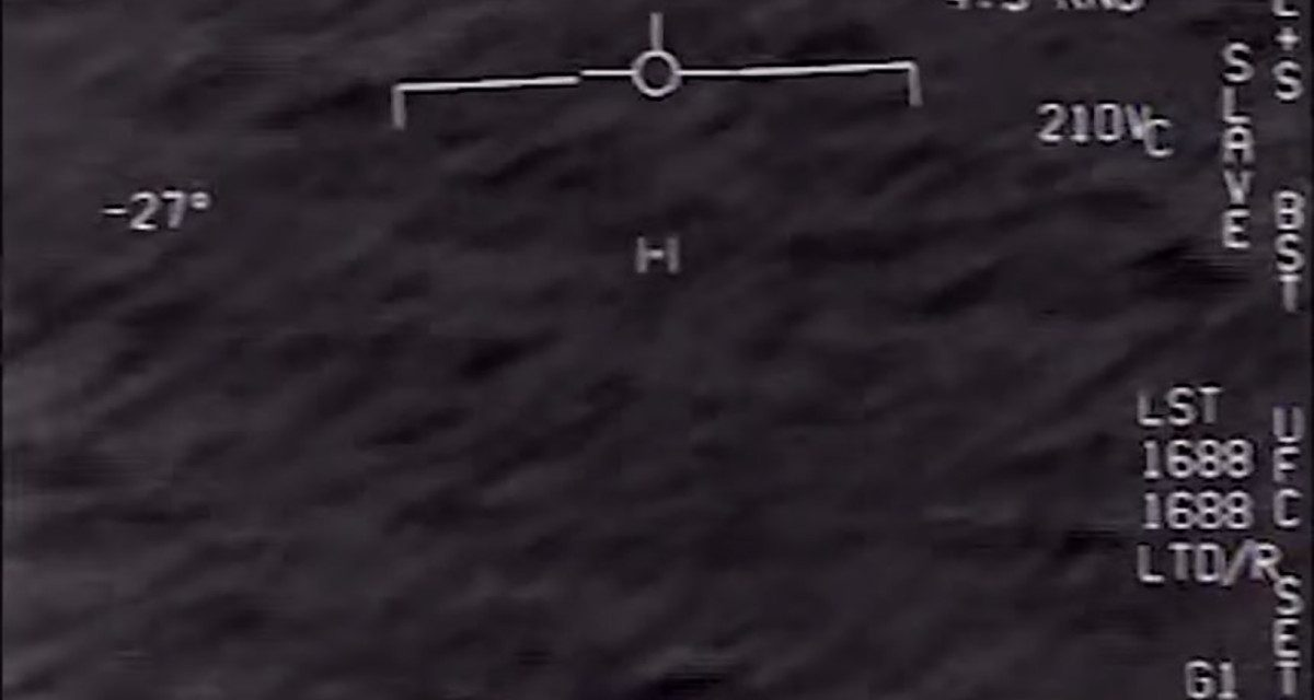 Footage of mysterious object above ocean stuns military personnel