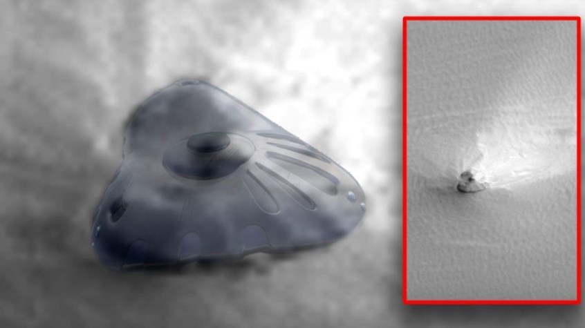 600-FOOT-WIDE, INTACT-LOOKING UFO SPOTTED ON MARS COULD STILL FLY, SPECIALISTS CLAIM