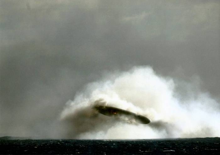 Submarine photos reveal possible evidence of UFOs
