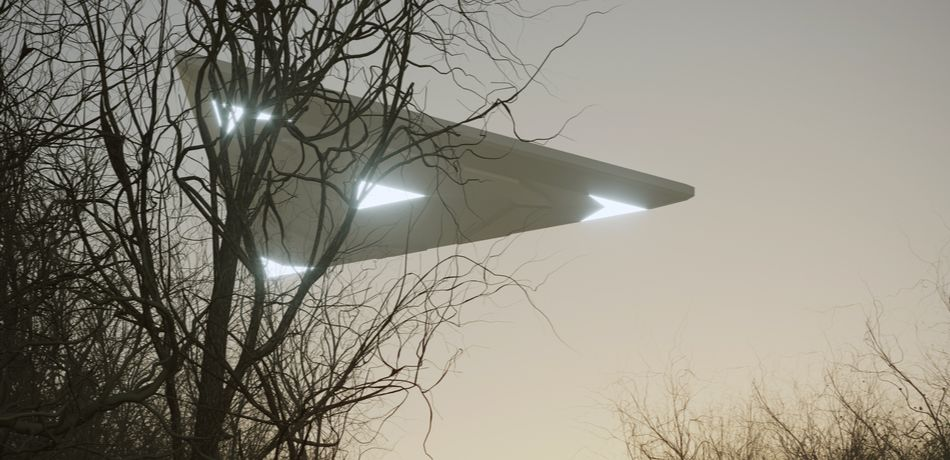 Viral Video Reveals Triangular-Shaped UFO 'Siphoning Energy' From A Lightning Bolt