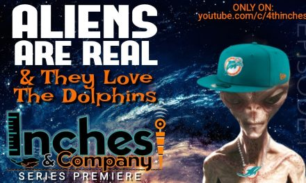 Aliens are REAL & They Love the Dolphins | Inches & Co. #01