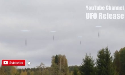 ALIEN CRAFT SQUADRON GOES INSIDE PORTAL!!! REMARKABLE UFO FOOTAGE!!! 9th November 2018!!