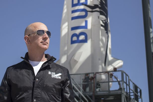 Jeff Bezos claims TRILLIONS of future humans will live in floating space colonies